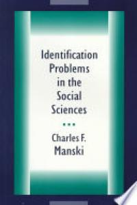 Identification problems in the social sciences