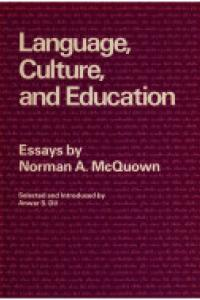 Language, culture, and education :essays
