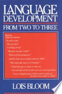 Language development from two to three