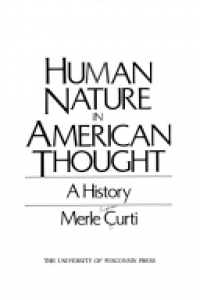 Human nature in American thought :a history