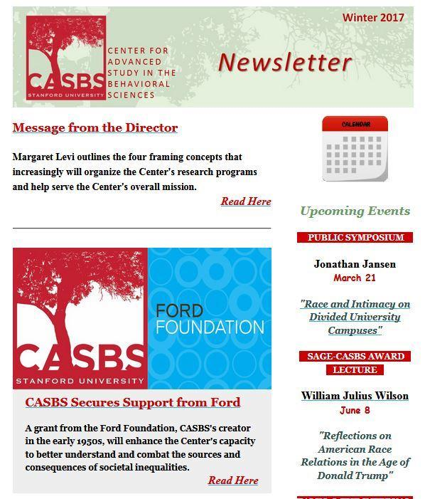 Image of the Newsletter