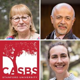 Pictures of Speakers and CASBS Logo