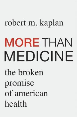 More Than Medicine book cover image