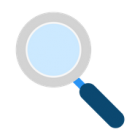 Icon of magnifying glass