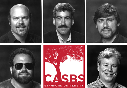 Images of CASBS Fellows and Logo